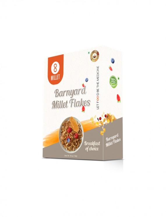 Barnyard Millet Flakes (1lb pack)