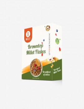 Browntop Millet Flakes (1 lb pack)