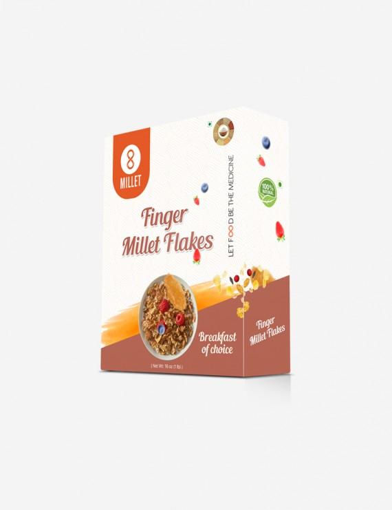 Finger Millet Flakes (1 lb pack)