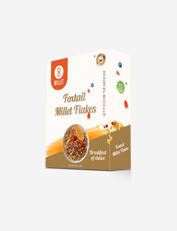 Foxtail Millet Flakes  (1 lb pack)