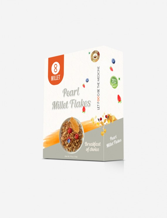 Pearl Millet Flakes (1 lb pack)