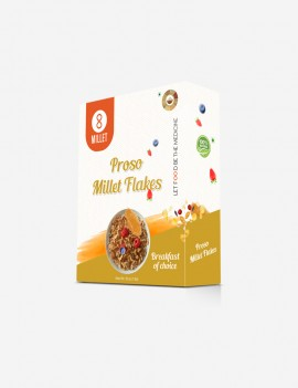 Proso Millet Flakes  (1 lb pack)