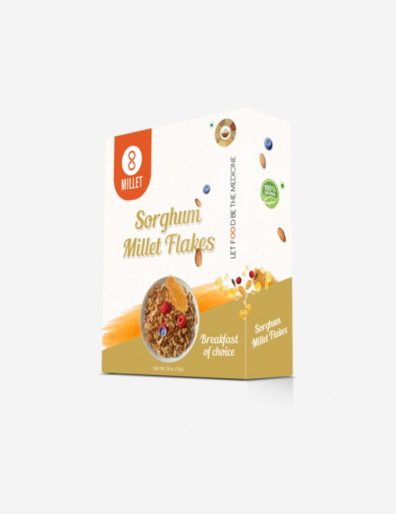 Sorgum Millet Flakes  (1 lb pack)