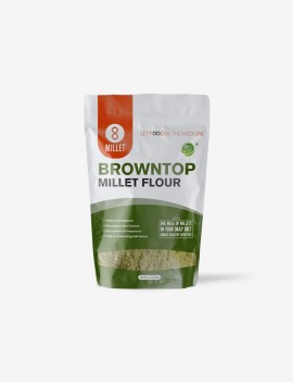 Browntop Millet Flour (2 lb pack)