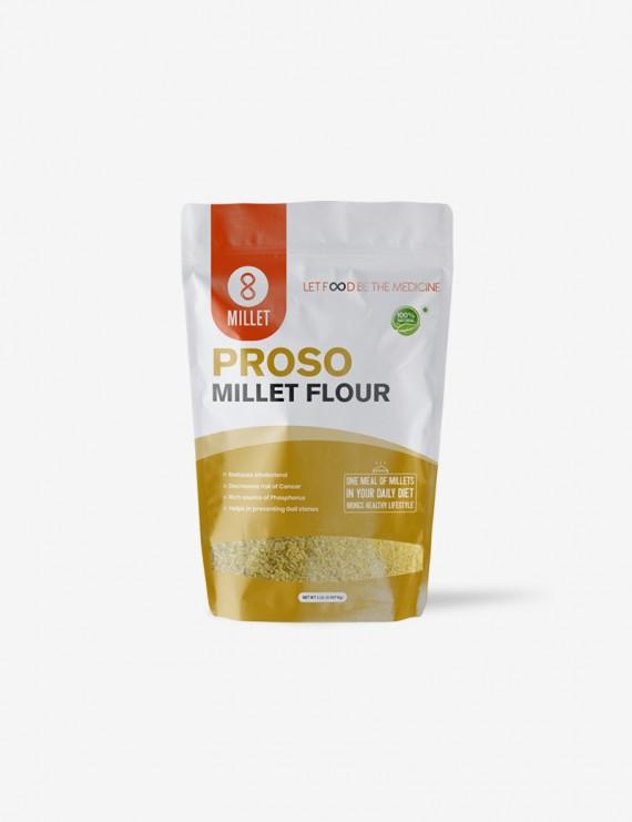 Proso Millet Flour  (2 lb pack)