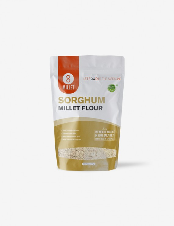 Sorgum Millet Flour  (2 lb pack)