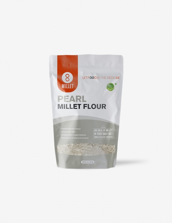 Pearl Millet Flour (2 lb pack)