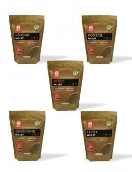 10 Lb - 5 Pack Millet Combo (2lb each)