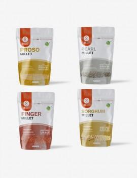 8 Lb - 4 Pack Millet Combo (2lb each)