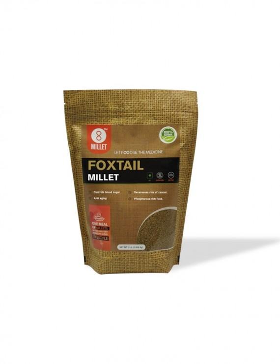2 Lb - Foxtail Millet Pack