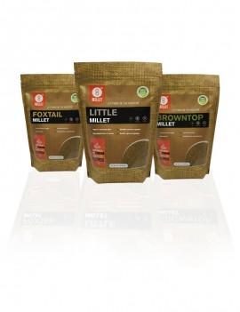 6 Lb - 3 Pack Millet Combo (2 lb each)
