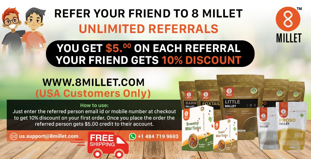 5 pack millet combo